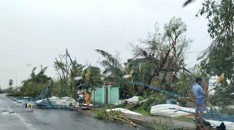 Cyclone Gaja: Storm leaves several dead, heavy rains forecast for next 24 hours.