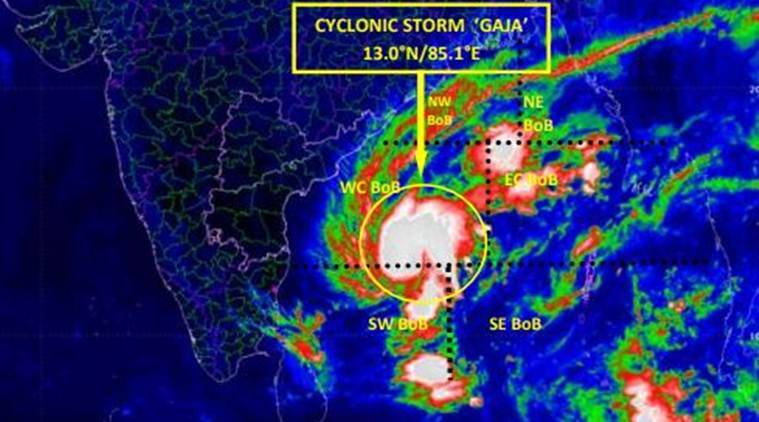 Cylone Gaja to intensify into severe cyclonic storm: IMD