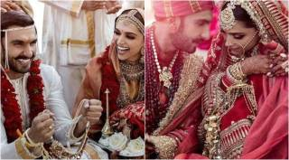 Deepika Padukone and Ranveer Singh's wedding album