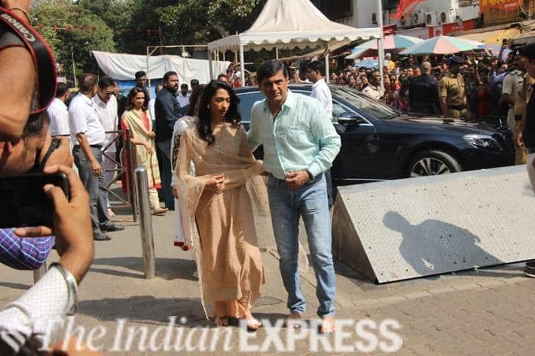 Deepika Padukone, Ranveer Singh Siddhivinayak visit photos