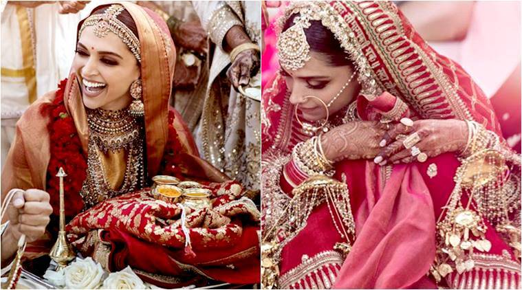 Deepika Padukone turns into a gorgeous Sabyasachi bride ...