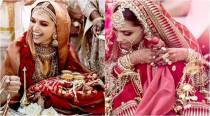 Deepika Padukone turns into a gorgeous Sabyasachi bride; gets Sanskrit mantra embroidered on her veil