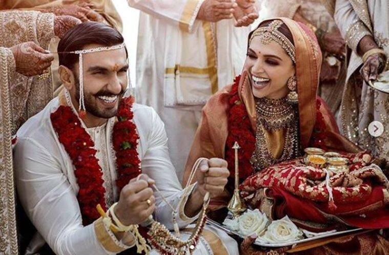 Deepika Padukone-Ranveer Singh wedding: Bollywood's power couple looks striking in Sabyasachi