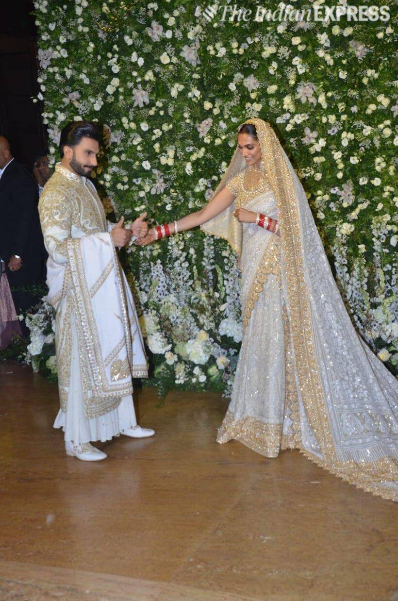 deepika ranveer reception photos