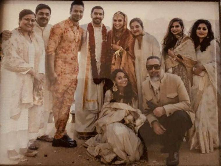 New pictures emerge from Deepika, Ranveers wedding