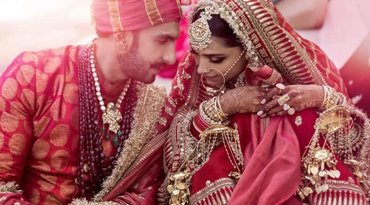 Deepika Padukone and Ranveer Singh look mesmerising in their wedding photos