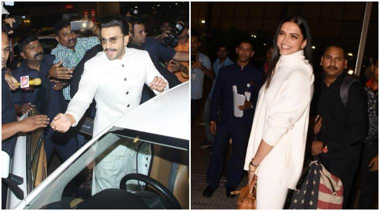deepika ranveer leave for wedding in italy