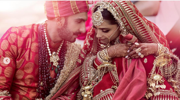deepika and ranveer wedding photos