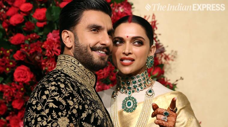 deepika and ranveer reception photos