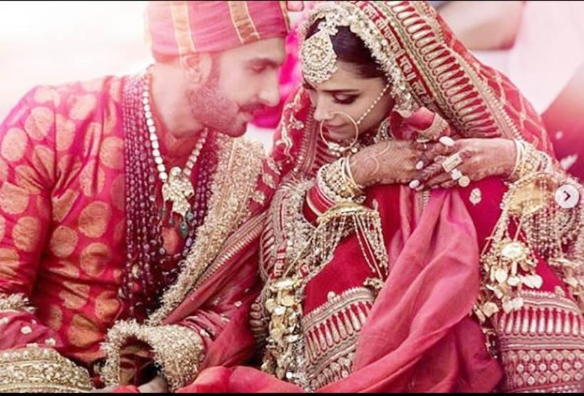 Ranveer Singh deepika padukone north indian wedding