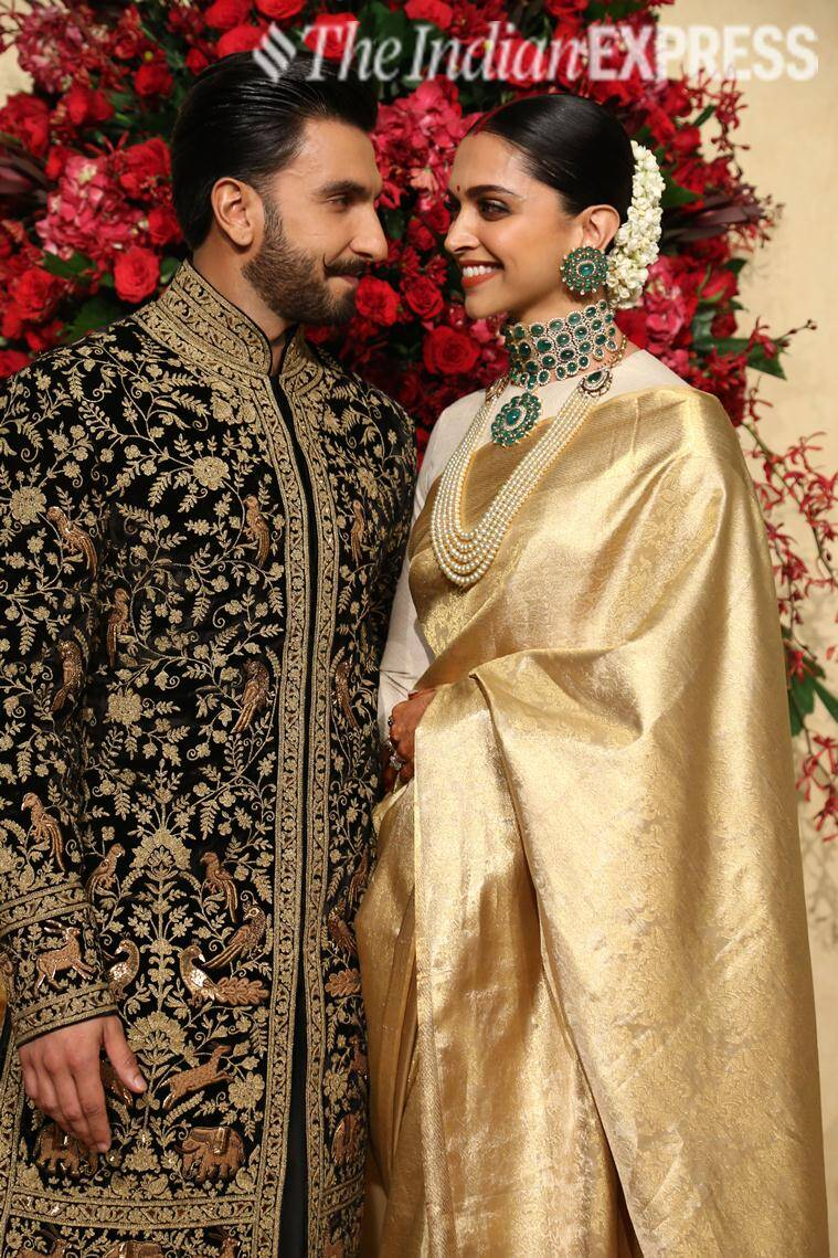 Deepika Padukone-Ranveer Singh reception: Styled by ...