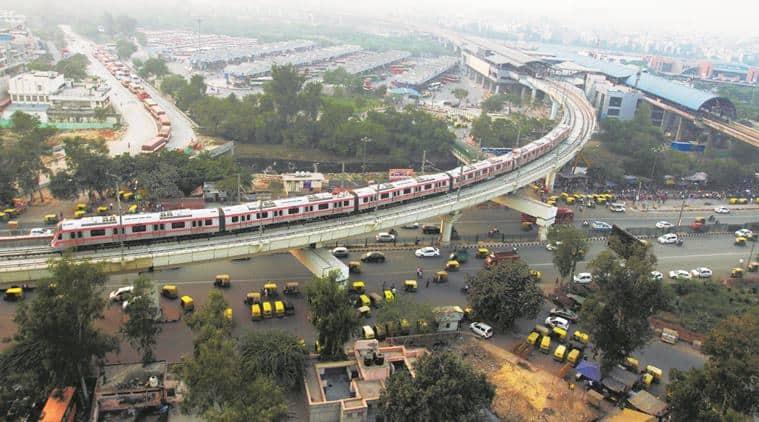 delhi metro, narendra modi, union cabinet, delhi metro corridor, dilshad garden, ghaziabad, new bus adda, public transport, indian express news