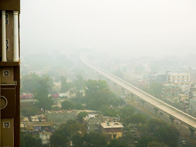 delhi smog pollution