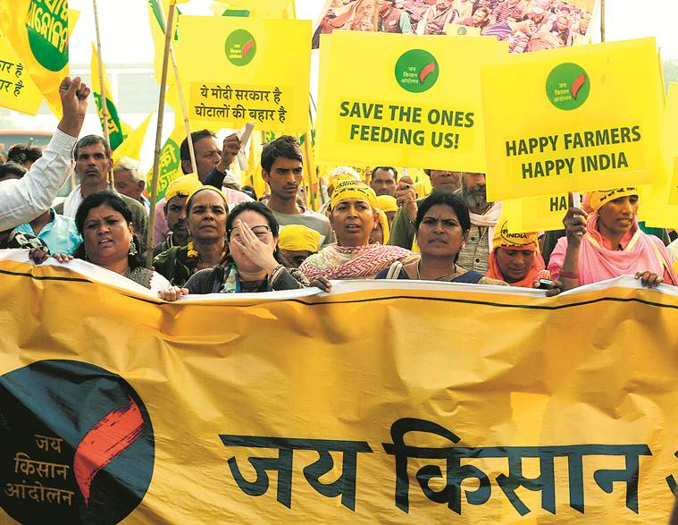 Delhi farmers' march: Amid hard demands, some poetry, dance and bananas
