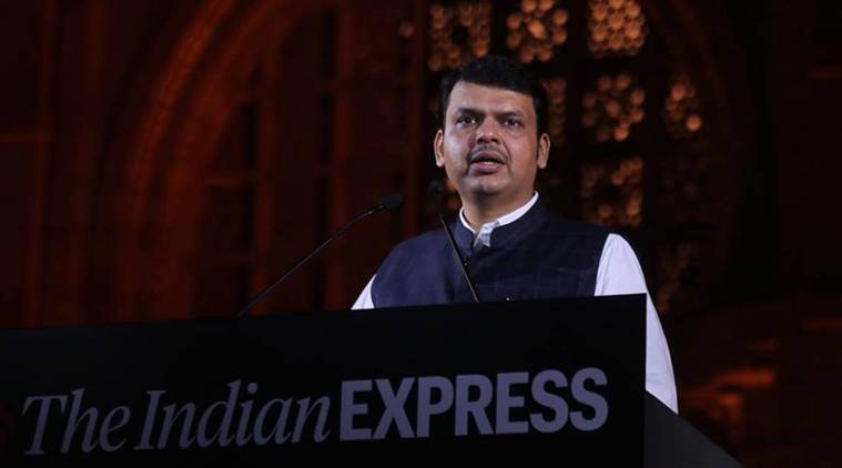 Devendra Fadnavis, Chief Minister Devendra Fadnavis, alliance with shiv sena, under the leadership of Modi, PM Modi, 2019 lok sabha election, Indian Express