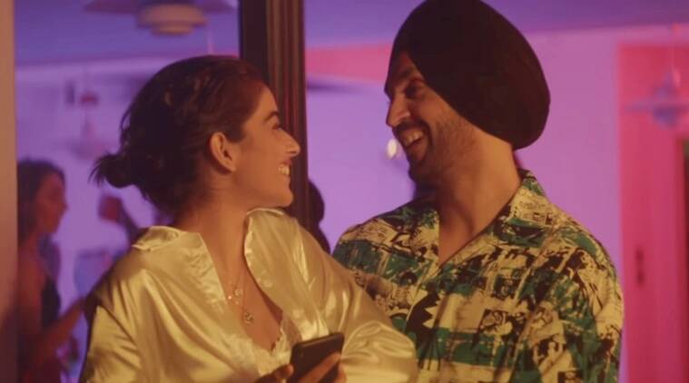 Diljit dosanjh and banita sandhu in jind mahi