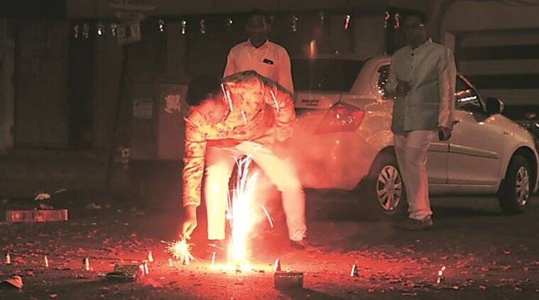 Noisier Diwali in Pune this year; Kothrud, Mandai and Karve Road see loudest celebrations