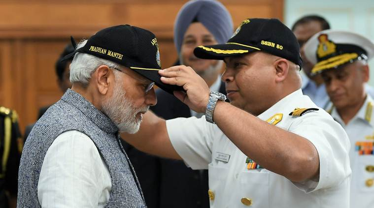 INS Arihant will protect the 130 crore Indians from external threats and contribute to the atmosphere of peace in the region, Modi said. (Narendra Modi/Twitter)