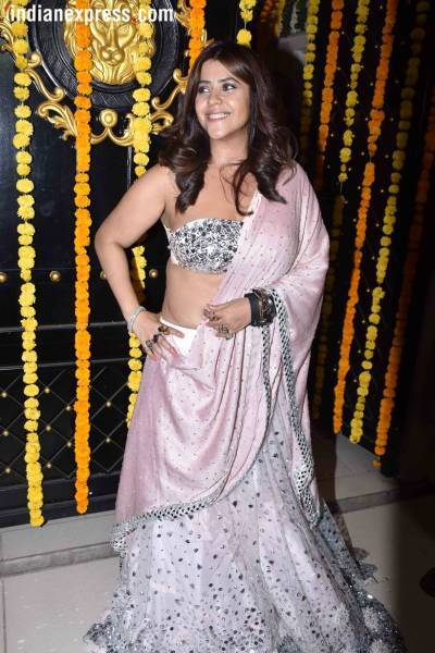 ekta kapoor at diwali bash