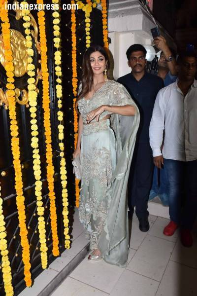 Shilpa Shetty on the ekta kapoor diwali bash