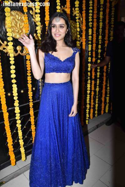 shraddha kapoor at ekta kapoor diwali party
