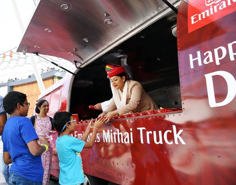 diwali, diwali 2018, deepavali, Dubai diwali, Emirates Airlines, emirates Diwali, Emirates diwali celebrations, emirates diwali offer, india news, travel news, indian express