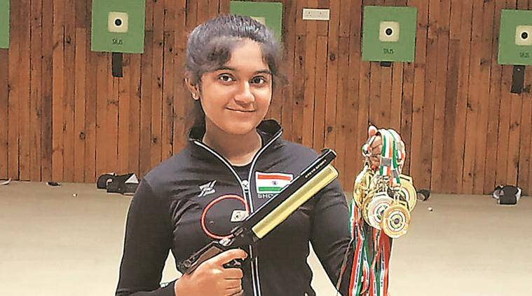 15-year-old shooter Esha Singh donates Rs 30 thousand to fight pandemic