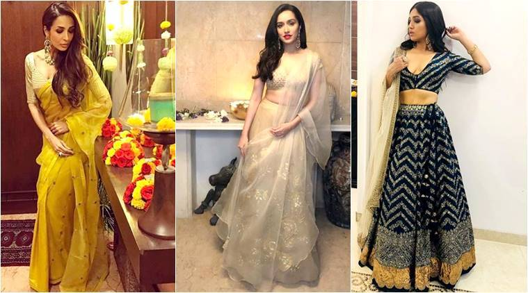 Shraddha Kapoor, Malaika Arora, Bhumi Padnekar: Celebrity approved ethnic outfits for the wedding season