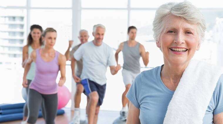 old people exercise, exercise of old people. advantage of exercise, old people exercise, muscle health old people, indian express, indian express news