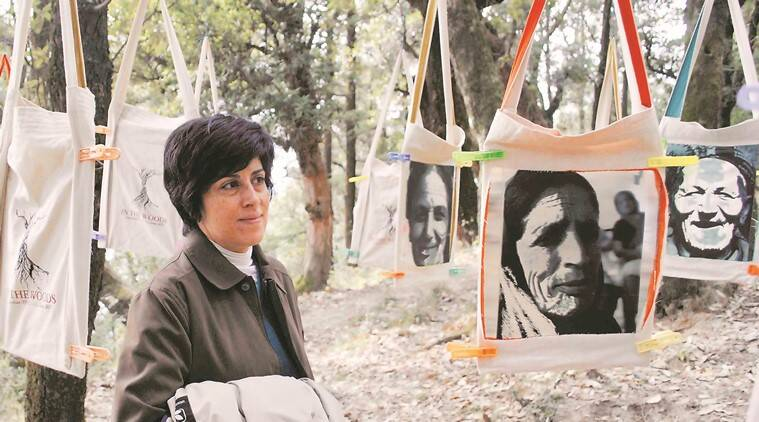 open art exhibition, Art exhibition in Himachal, In The Woods, The 4tables Project, Frank Schlichtmann Bir and Billing, Gunehar, Kangra Valley, Himachal Pradesh, Indian Express