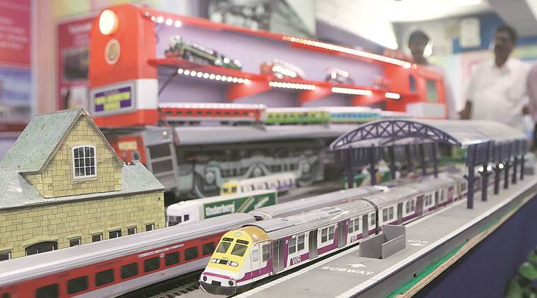 For 40 years, he has been making train models to fuel his passion