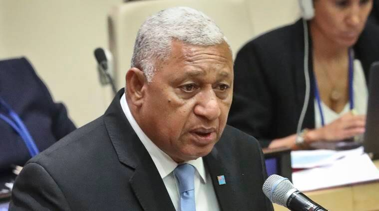 Fiji leader sworn in for 4 more years after winning election