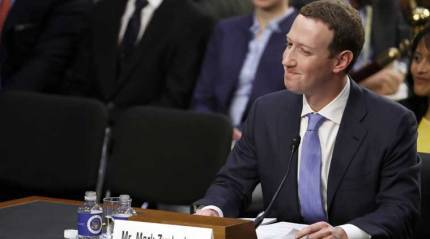 Facebook's Zuckerberg says they removed 1.5 billion fake accounts in last two quarters