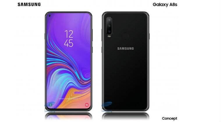 Samsung Galaxy A8s, Galaxy A8s Infinity-O display, Galaxy A8s display hole, Galaxy A8s specifications, Galaxy A8s expected launch, Galaxy A8s in display camera, Galaxy A8s features, Galaxy A8s leaks, Samsung