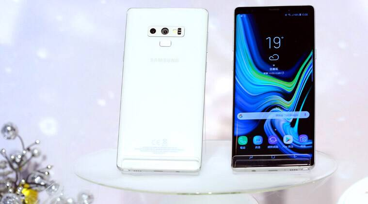 Samsung, Samsung Galaxy Note 9, Galaxy Note 9 in white, Galaxy Note 9 Snow white, Galaxy note 9 white colour, Galaxy Note 9 snow white variant, Galaxy Note 9 white option