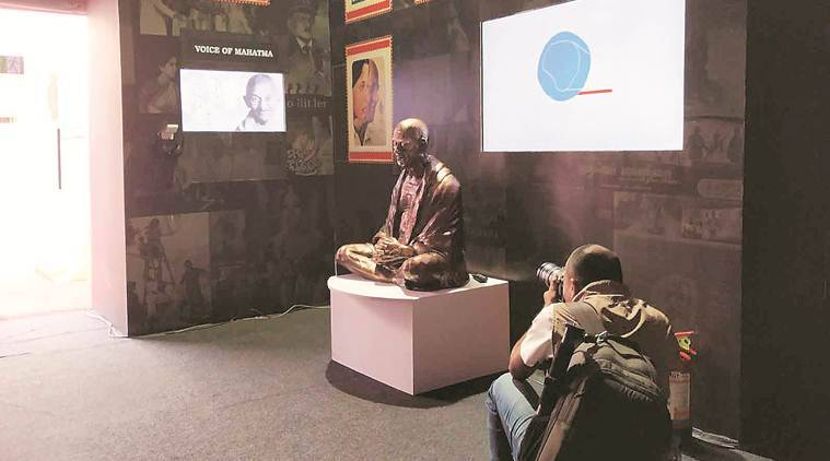 On IFFI sidelines, exhibition on Gandhi on celluloid