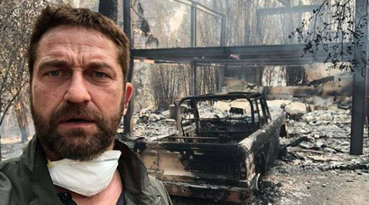 Gerald Butler loses his Malibu home in California wildfire