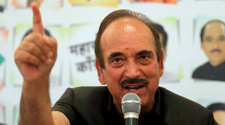 Ghulam Nabi Azad blames PM Modi for turning situation in Kashmir like 90's