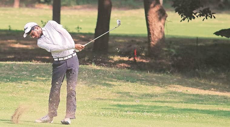 Jeev Milkha Singh Invitational: Local lad Karandeep grabs share of lead