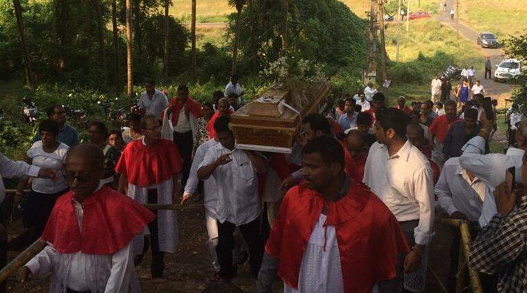 Goa: Body of priest-activist waited three years for burial