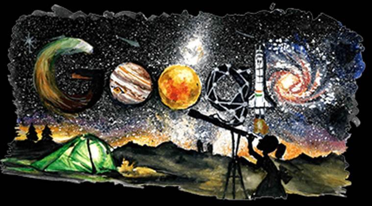 Children's Day 2018 celebrated with a Google doodle on spaceexploration thumbnail