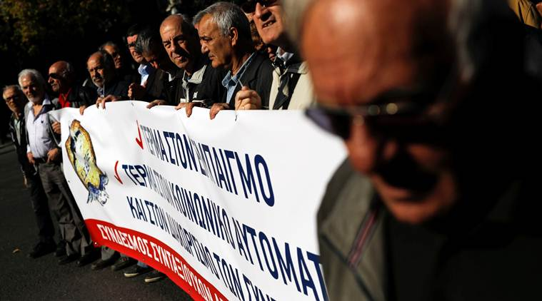 Greece: Public sector workers strike for higher pay