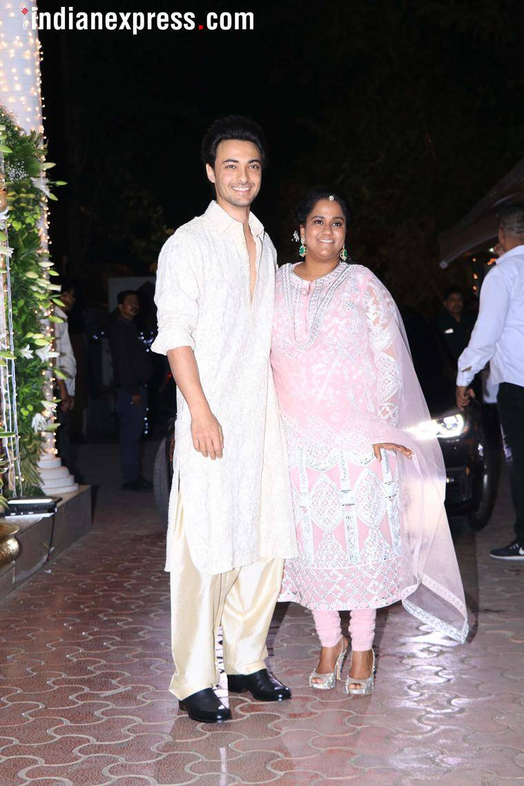 aayush sharma and arpita khan