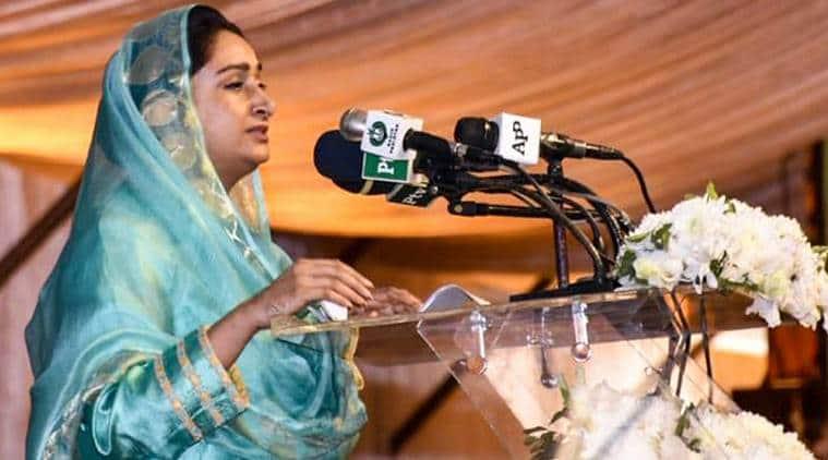 Harsimrat Kaur, Kartarpur corridor, pakistan government, Harsimrat warns Pakistan, indian express