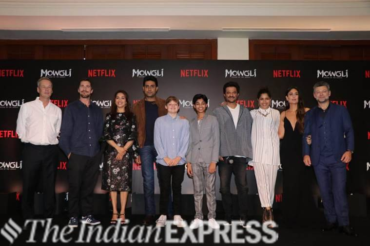 Hindi trailer launch of Mowgli