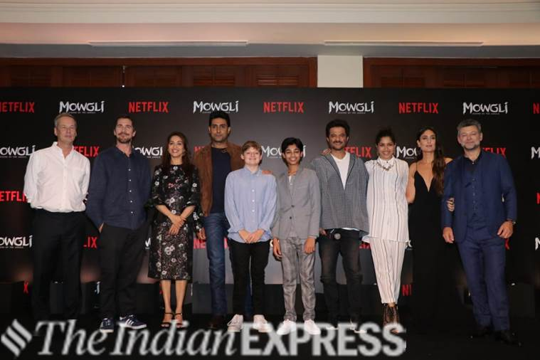Hindi trailer launch of Mowgli