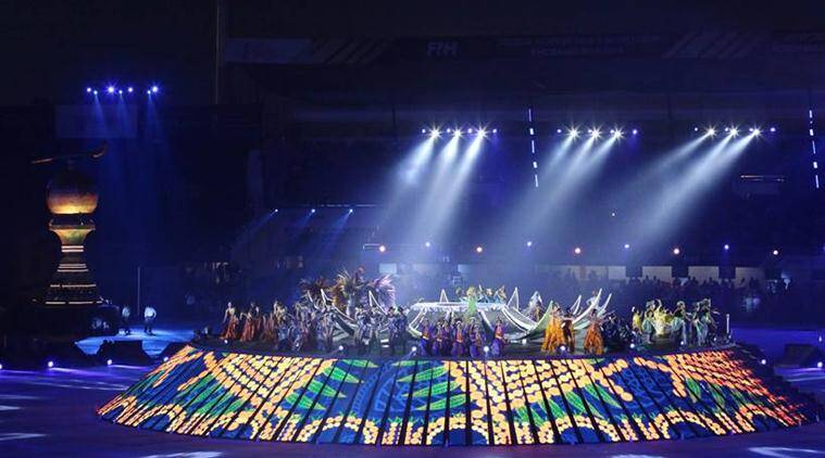 Hockey World Cup 2018 opens to a glittering ceremony by SRK, Madhuri Dixit, AR Rahman