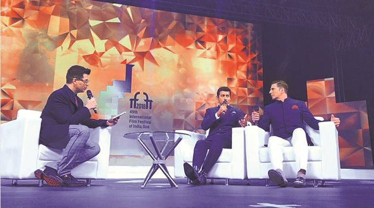 Flim Festival Indian, filmmakers, Film in India, IFFI, Prasad Mukherjee Indoor Stadium, Karan Johar, Akshay Kumar, Rajyavardhan Rathore, Indian Express