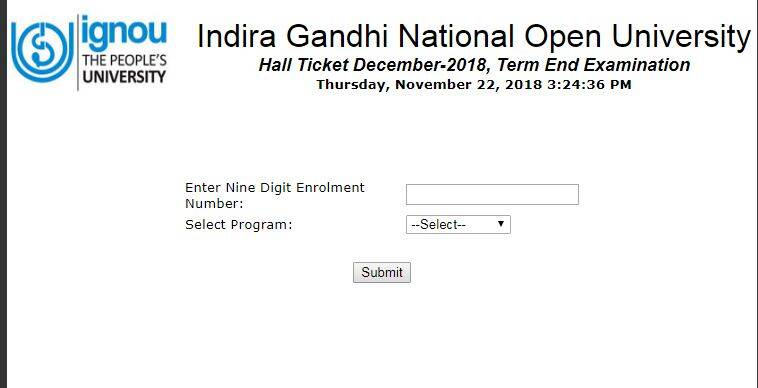 ignou, ignou.ac.in, ignou admit card