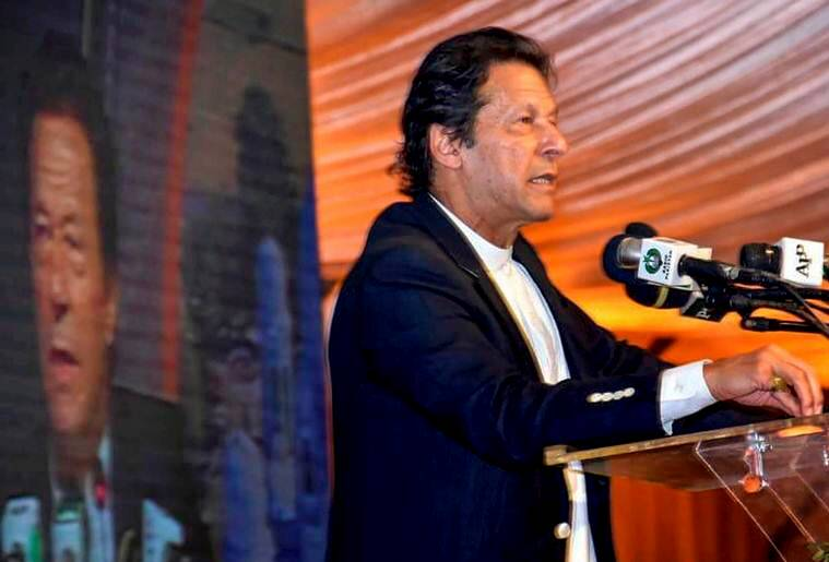 There is a clampdown on Hafiz Saeed... I have inherited (the problem): Imran Khan
